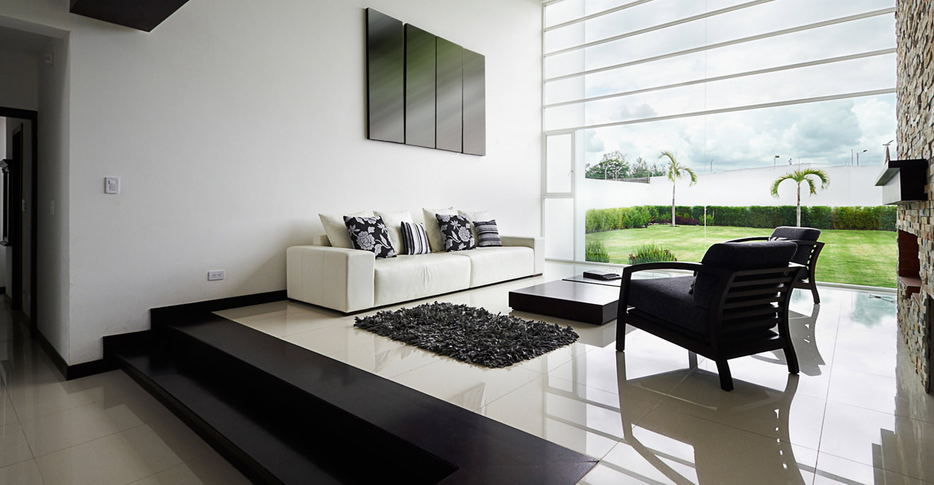 Minimal & Light Living Area (Demo)